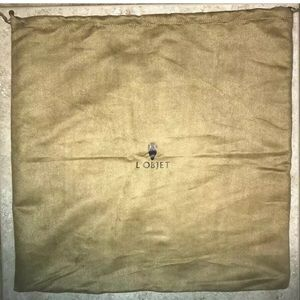 "L'OBJET ORIGINAL DUST BAG GREAT CONDITION 16""x16"""